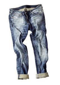 Ausgebeulte Jeans