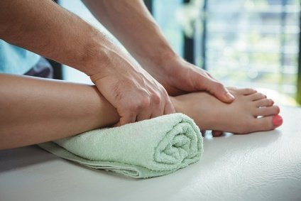 Experience well-being by pleasurable touch