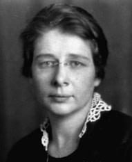 Porträt Dr. Ida Rolf 1924