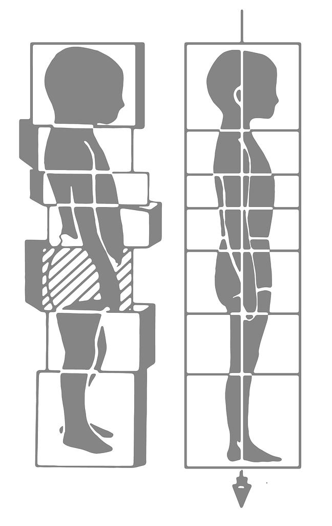 Little Boy Logo verdeutlicht das Konzept der Faszientherapie Rolfing