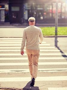 Beweglichkeit im Alter zu Fuß