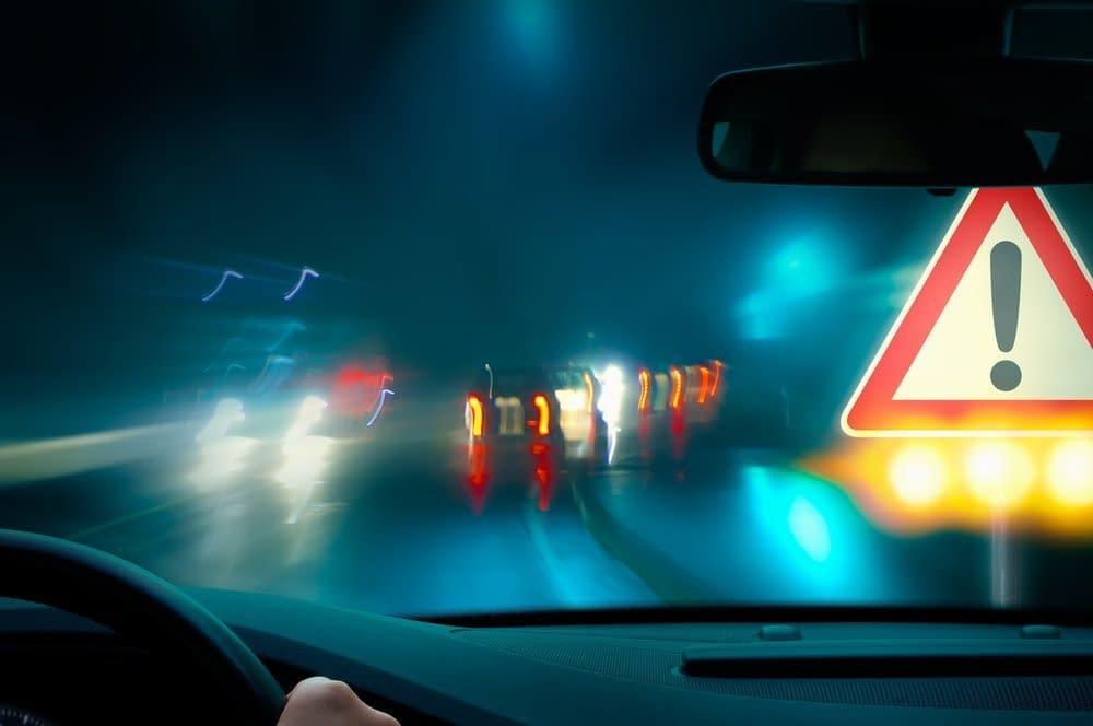 Schmerzen - Warnung an den Fahrer