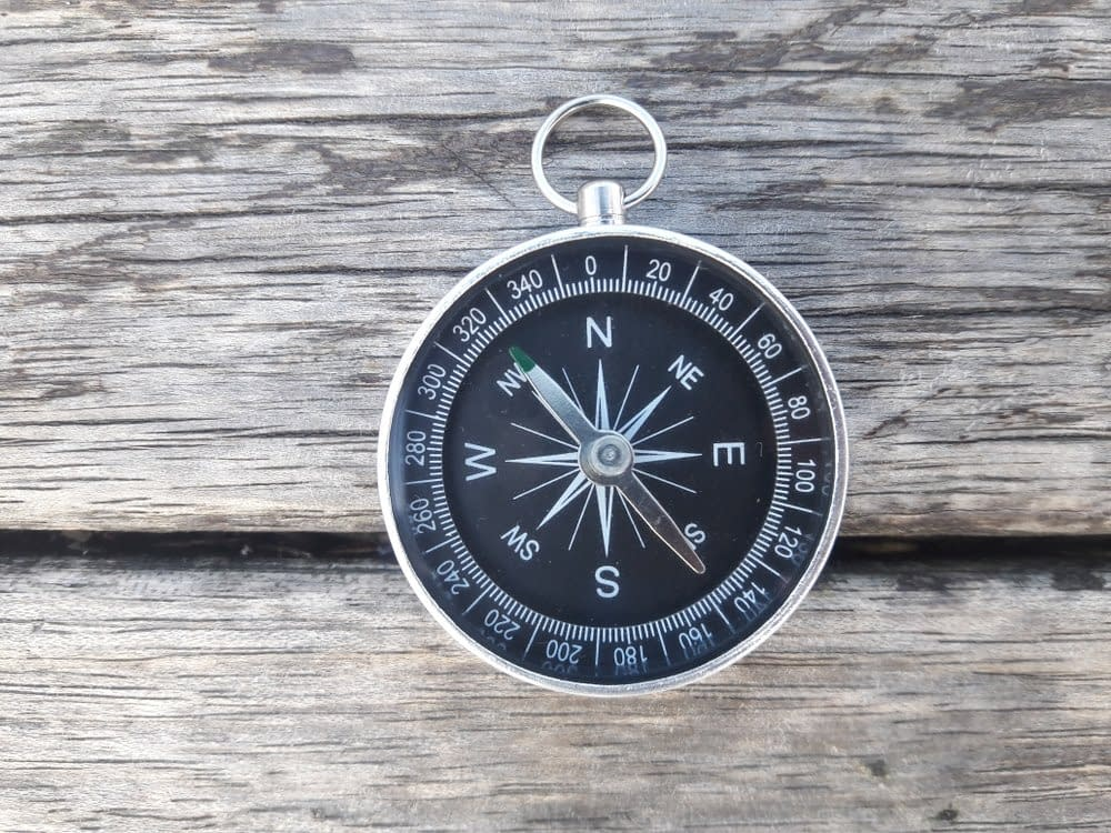 Kompass Orientierung und Ausrichtung Kernelement in Faszientherapie Rolfing