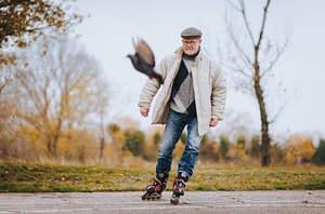 Beweglichkeit im Alter