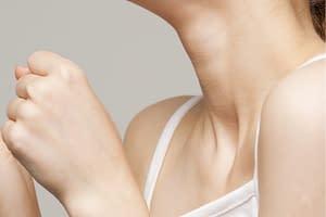 Asthma manuelle Behandlung der Kompression von innen