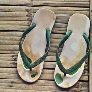 Das Leben hinterlässt Spuren im Fasziensystem wie in einem alten Schuh