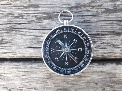 Missing compass for upright posture