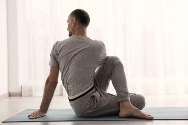 Der Yoga Drehsitz - Herausforderungen begreifen und dran bleiben